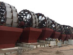 Bucket Wheel Sand Washer